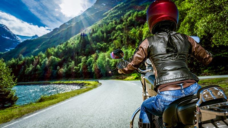 Geführte Motorradtouren Alpen