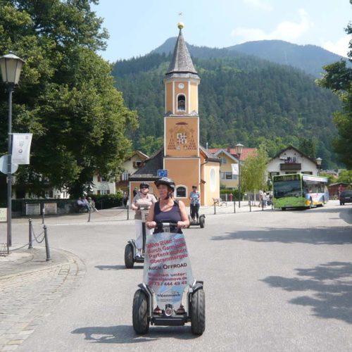 Segway-Tour Partenkirchen erleben 1,5 Std.