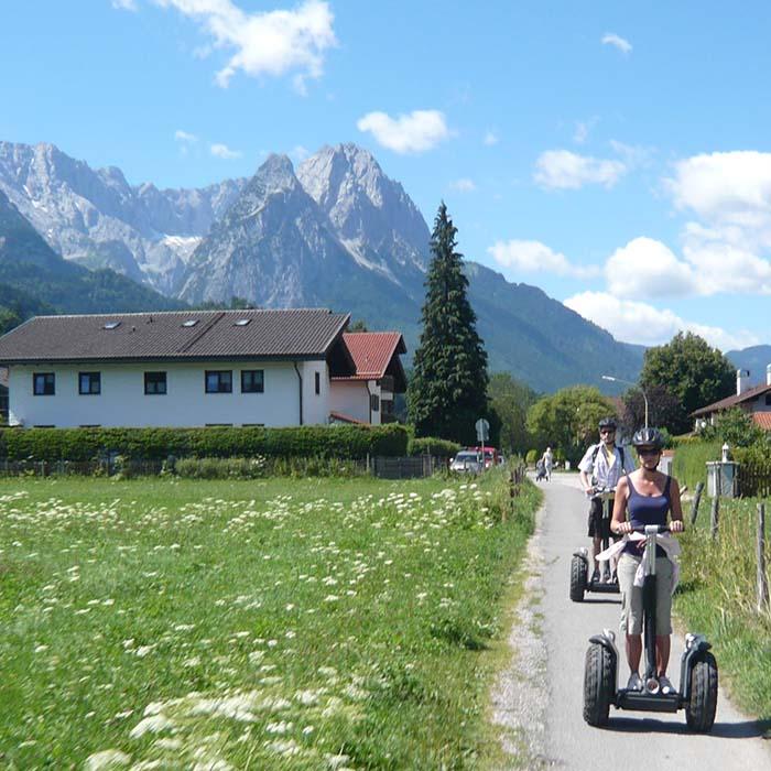 segwaytour-garmisch-führung Waxenstein Zugspitze