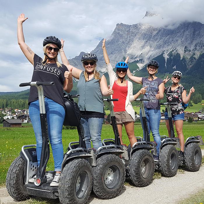Segway-Tour Garmisch erleben 1,5 Std.