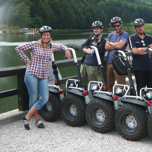 Segway-Gruppe Riessersee