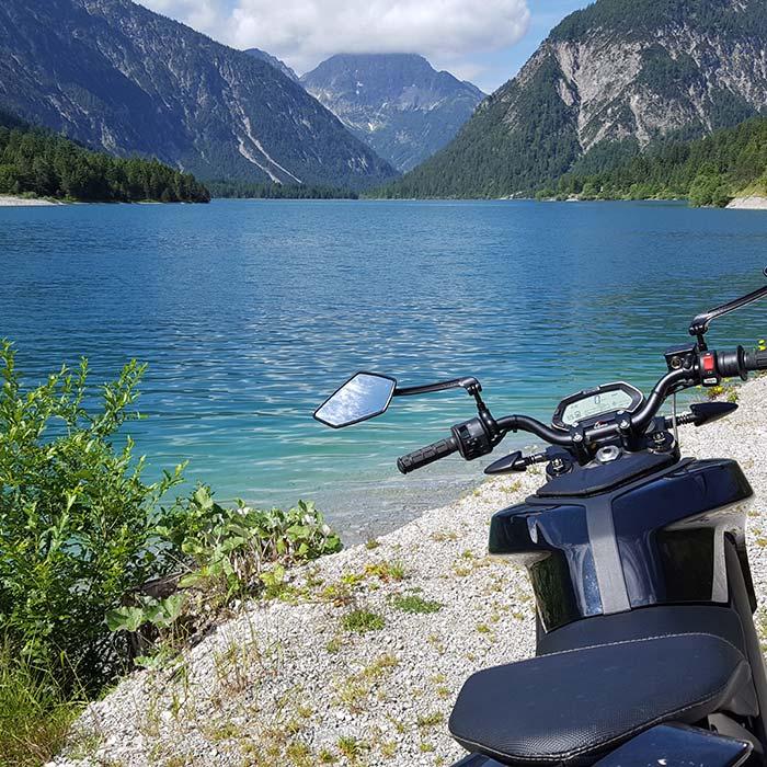 Motorradtour Plansee